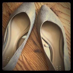 Brand new Taupe Pointed Toe Flat